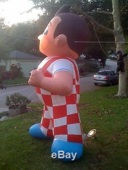 11 Ft BOB'S BIG BOY Inflatable FIGURE CUSTOM MADE (One Of A Kind) LOOK