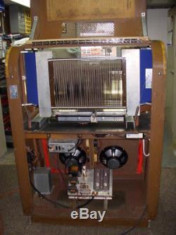 1948 Seeburg M100-A jukebox (juke box) -ONE OF A KIND hybrid 6000 mech 33-1/3 LP