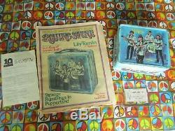 1965 Beatles Lunch Box, from Rolling Stone Magazine Cover, One of a kind