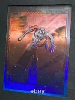 1991 Marvel Universe II Prototype Sample Spider-man Holo Card One Of A Kind