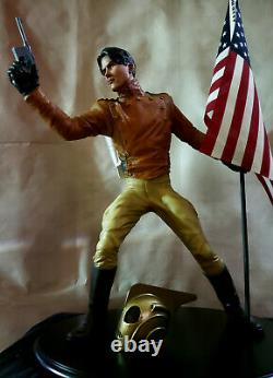 1991 The ROCKETEER Premium Figure custom STATUE One of a Kind Rare FIT Sideshow
