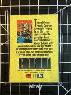 1993 Marvel X-Men Series 2 Cards Holithogram Error Card Set One-of-A-Kind
