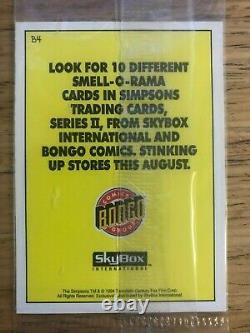 1994 Simpsons Series II B1-b6 Sealed Promo Card Set! One Of A Kind! Rare! Dipkin