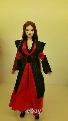 1/6 Queen Amidala Custom Figure, Hot Toys size, Star Wars. One of a kind