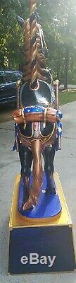 2004 Carousel Horse By Sandra McCoy Johnson ONE OF A KIND