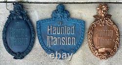 23 Haunted Mansion TOKYO Disneyland Plaque Prop RARE One Of A Kind Disney