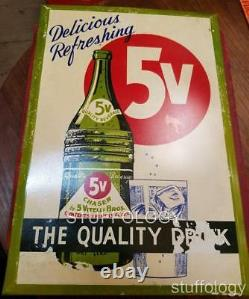 5V Vitelli Bros/Brothers Counter Sign, Rare, One Of A Kind