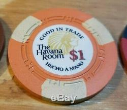 700 Havana Room CPC ASM H Mold Poker Chips Custom Casino Quality One of a Kind