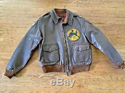 A-2 JACKET Blood Chit CBI 10th AF 436th BOMB SQUADRON Patch One Of A Kind Jacket