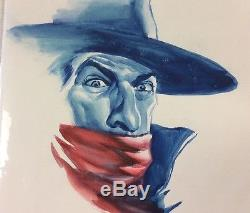 Alex Ross Original Color Art The Shadow Masks #1. One of a Kind Image