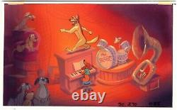 All Dogs Go To Heaven Bluth Production Animation Storyboard One of a Kind 1989 a