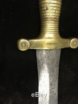 American Civil War Period Confederate South Carolina Bowie Knife One Of A Kind