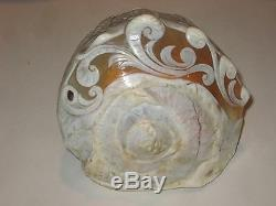 Antique Cameo Seashell, Hand Carved, One of a Kind Carving