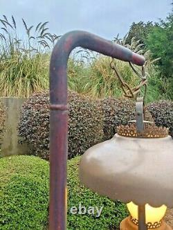 Antique Milk Can Floor Lamp One-of-a-Kind Original