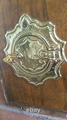 Antique One of a Kind Vintage Brass Speakeasy Door Knocker Peephole