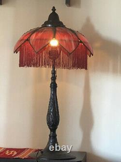 Art nouveau Slag lamp antique Original One Of A Kind Vintage Art Deco