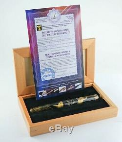 Artus Magnum Emperor Chinkin Sharks Fountain Pen One of a Kind