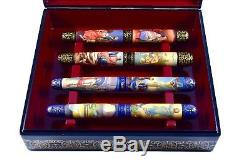 Artus Russian Miniature Art One of a Kind The Life of Christ Fountain Pen Set