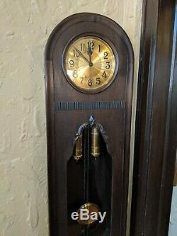 Authentic Grandfather Clock Antique German 1830's Hand Crafted One of a Kind