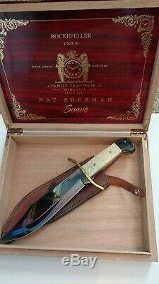 Bear Custom Knife one of a kind, FREE SHIPPING