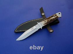 Beautiful Dietmar Kressler Custom One Of A Kind Full Integral Hunter/boot Knife