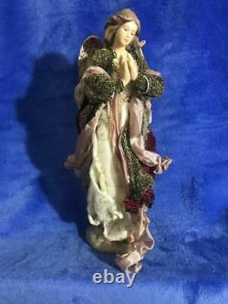 Beautiful Hand Made 13 Piece Nativity Set / One Of A Kind! / Famiy Keepsake