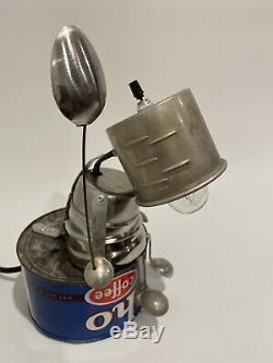 Bert Industrial steampunk, handmade, one-of-a-kind decorative lamp