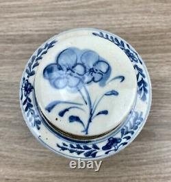 Blue And White Porcelain Handpainted Ginger Jar By Oriental Danny One Of A Kind