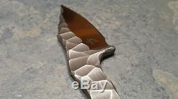 Borka Blades SRambit Fatty Custom One of a Kind
