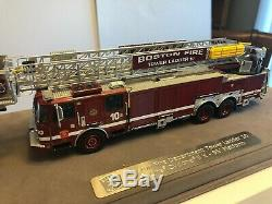 Boston FD E-One Tower 10 1/50 Fire Replicas FR0059-10 New Prototype 1 of a kind