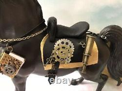 Breyer Steampunk Custom Painted Model With Custom Tack Set One Of A Kind