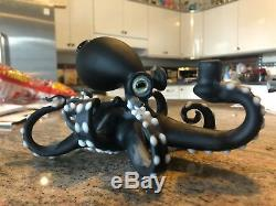 CUSTOM Pacini one of a kind Concentrate Rig Bubbler Glass Octopus