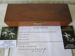 C. GRAY TAYLOR CUSTOM ART KNIFE very rare art dagger circa'74 one of a kind