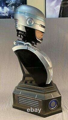 Chronicle Collectibles 11 Robocop Bust Peter Weller One of a Kind Prototype NoR