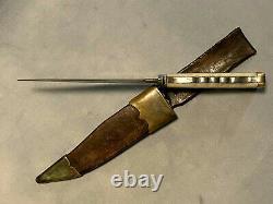 Civil War Knife Bowie Knife Superb One of a Kind Original Knife Unique