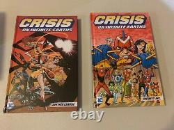 Crises on Infinite Earths COMPLETE BOX SET-ALL HARDCOVERS ONE OF A KIND