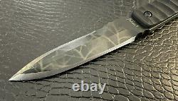 Crusader Forge Bone Scraper NEW One of a Kind RARE CUSTOM Fix Blade