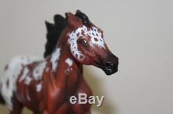 Custom Breyer Latigo Appaloosa Resculpted ONE OF A KIND