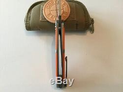 Custom David Curtiss Knives Medium F3 One Of a Kind Flipper Folder Knives