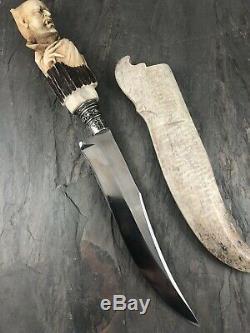 Custom Dracula Handmade Knife One Of A Kind