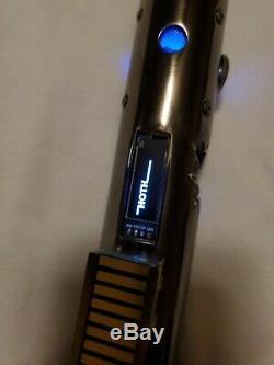Custom Lightsaber Hilt One of a kind Neopixel / Proffie Crystal reveal