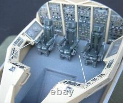 Custom-built, one-of-a-kind Planet of the Apes Spaceship miniature