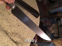 Custom made longhunter knife. One of a kind blade marked S. E. Superior quality