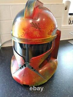 Customised Star Wars Clone Trooper Electronic Helmet. One of a kind