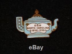 Dar North Carolina 100th Anniversary Pin Very Rare One Of A Kind Listing
