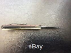 David Boye Custom One Of A Kind Hand Made Folding Knife