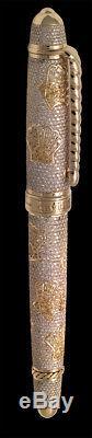 David Oscarson Diamond Seaside Fountain Pen One of a Kind
