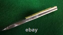 Dietmar F. Kressler ONE OF KIND custom damascus gentlemen knife