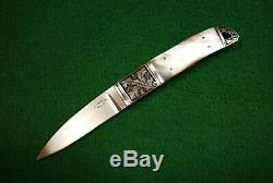 Dietmar F. Kressler ONE OF KIND custom engraved gentlemen knife
