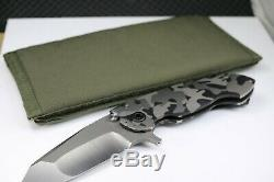 Direware Solo NEW One Of Kind S110V Steel WIth Box Mesh Radical Camo
